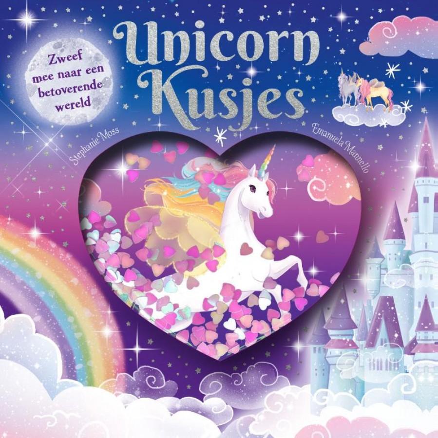 Unicorn Kusjes - glitter globes