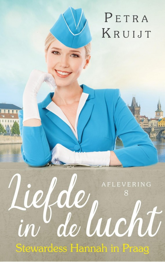 Stewardess Hannah in Praag