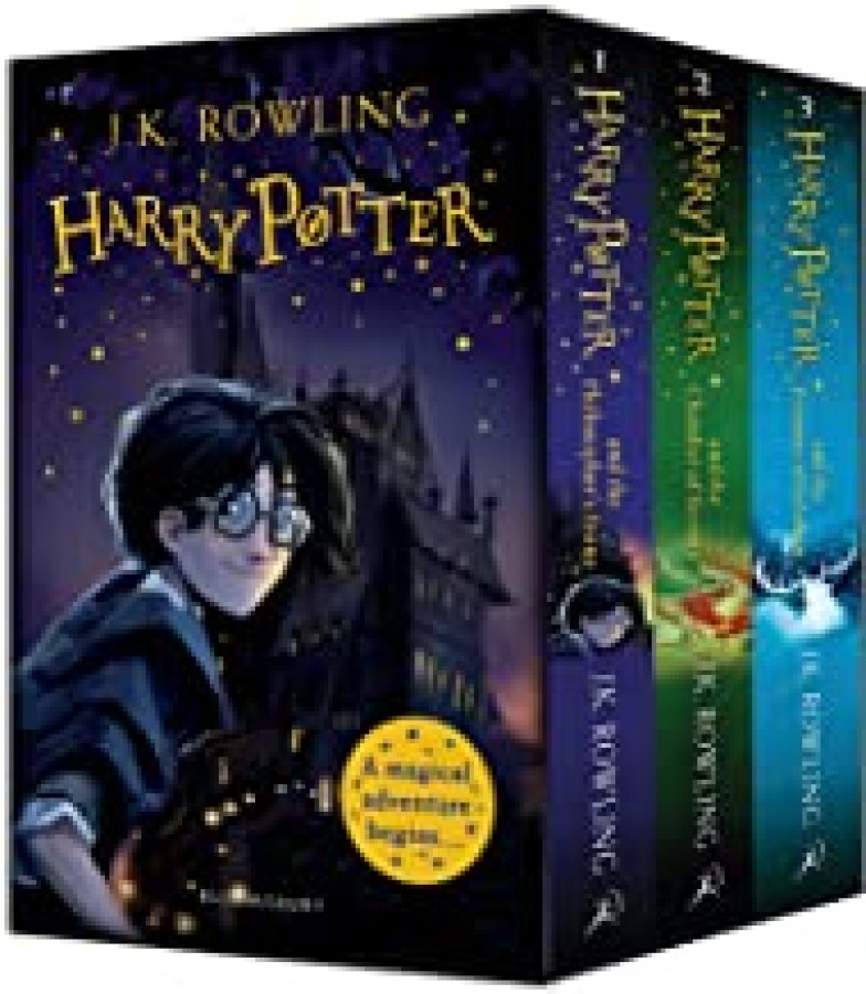 Harry potter 1-3 paperback box set