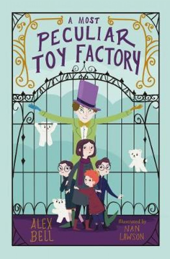 Most peculiar toy factory