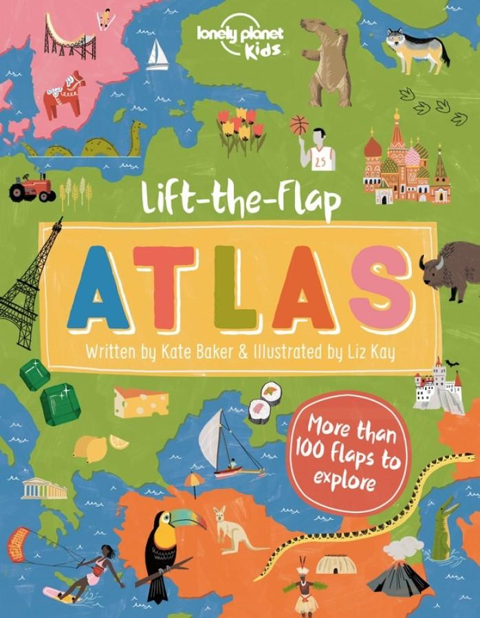 Lonely planet kids Lift-the flap atlas