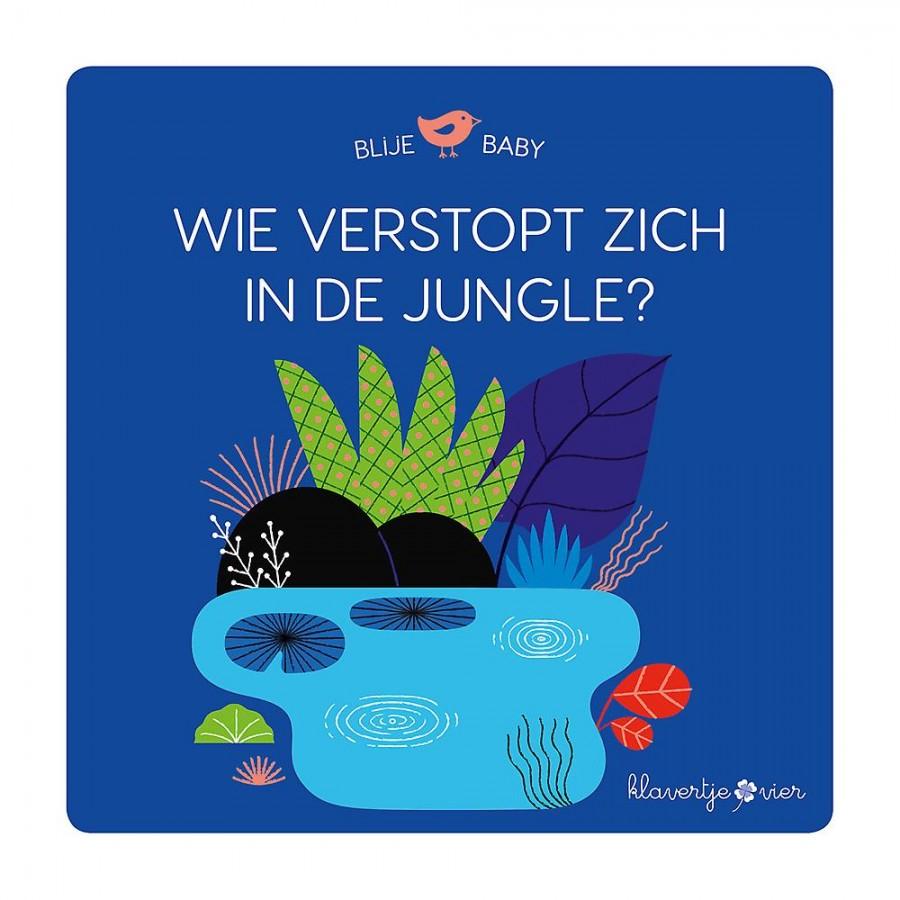 Wie verstopt zich in de jungle? (puzzelboek)