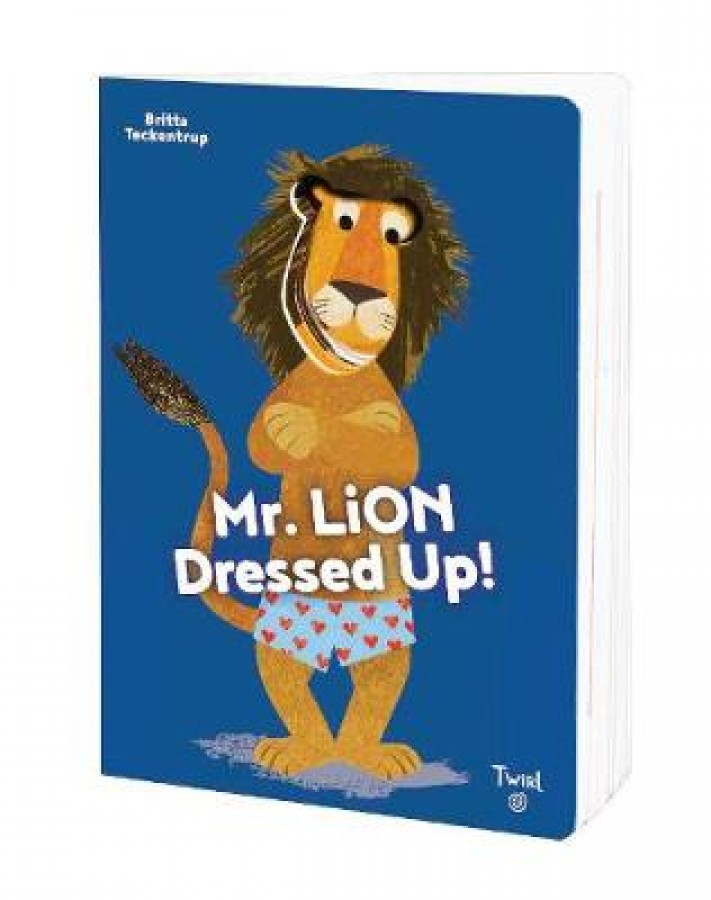 Mr.lion dresses up!