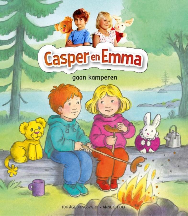 Casper en Emma - gaan kamperen