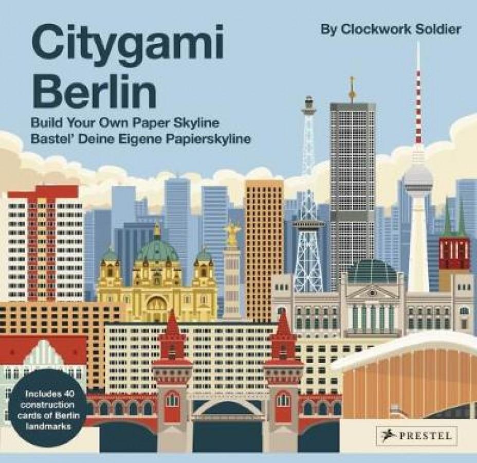 Clockwork soldier Citygami berlin: build your own paper skyline