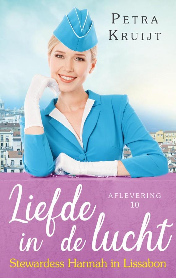 Stewardess Hannah in Lissabon