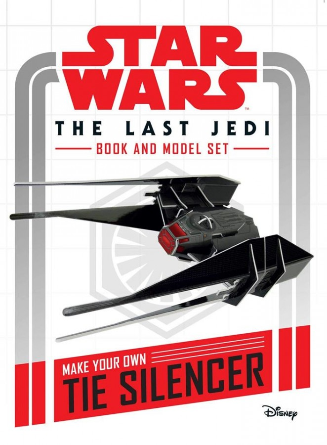 Star wars: the last jedi book and model set   make your own tie silencer