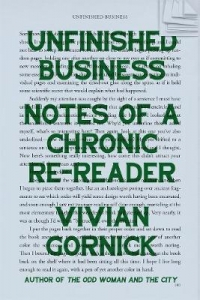 Unfinished business: notes of a chronic re-reader