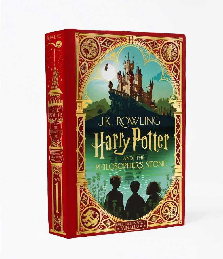 Harry potter (01): harry potter and the philosopher's stone: minalima edition