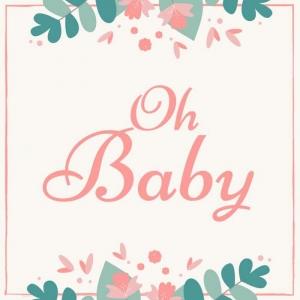 Gastenboek voor Babyshower   Babyborrel   Verjaardag Van Kinderen   Kraambezoek & Kraamfest   Babyfeestje   Babyfeest Versiering   Mooi Gastenboek