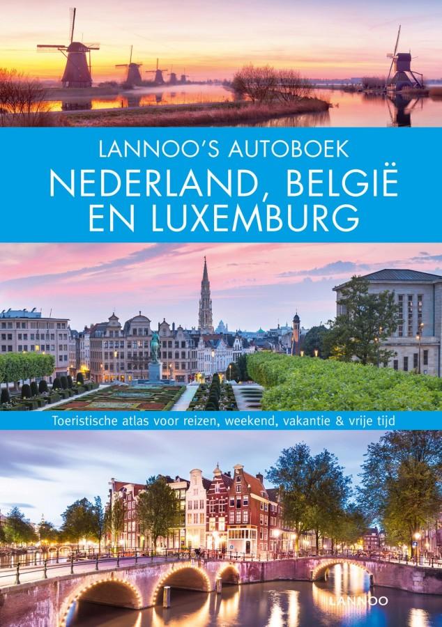 Lannoo's Autoboek - Nederland, België en Luxemburg