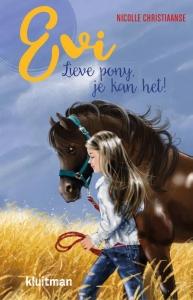 Evi. Lieve pony, je kan het!