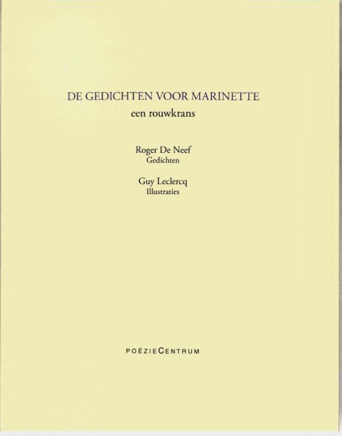 De gedichten voor Marinette / een rouwkrans