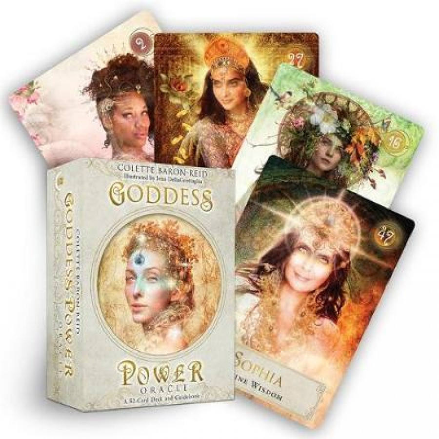 Goddess power oracle (deluxe keepsake edition) : deck and guidebook