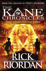 Kane chronicles (02): the throne of fire