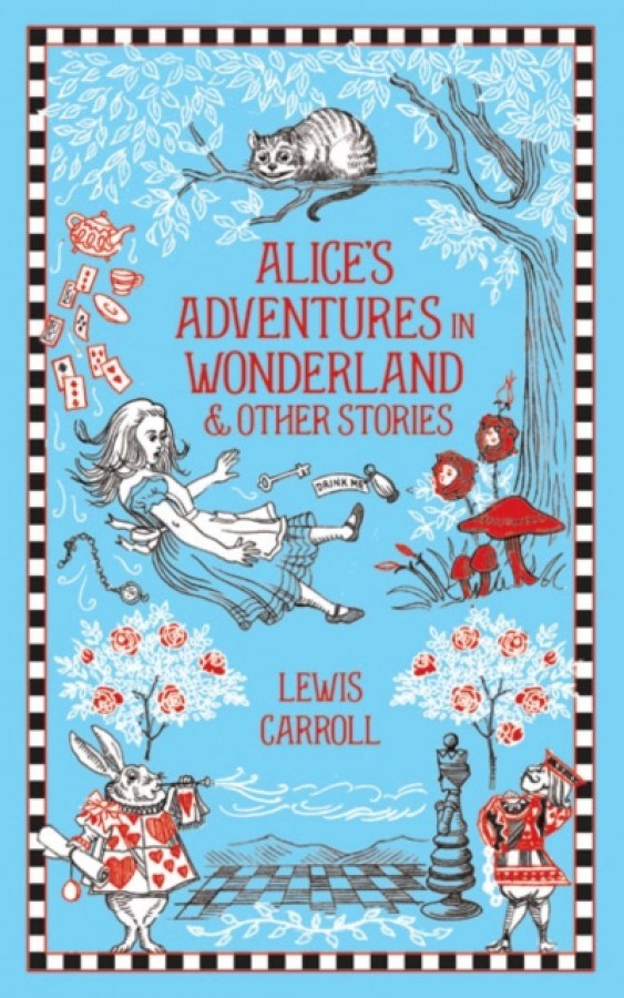 Leatherbound classic collection Alice's adventures in wonderland (new cover)