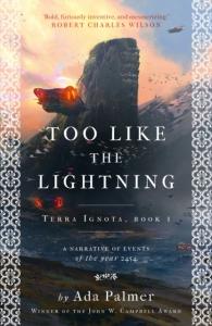 Terra ignota (01): too like the lightning