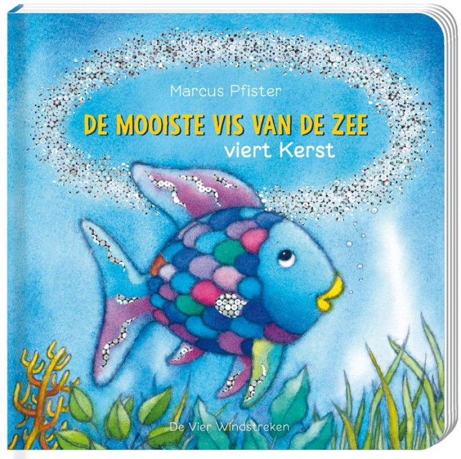 De mooiste vis van de zee viert Kerst, kartonboek