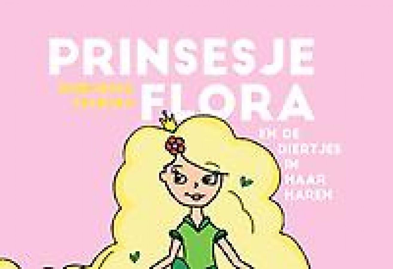 Prinsesje Flora en de diertjes in haar haren