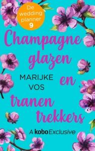 Champagneglazen en tranentrekkers