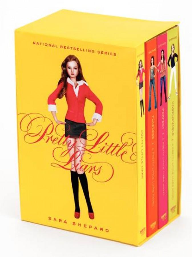 Pretty little liars box set (1-4)