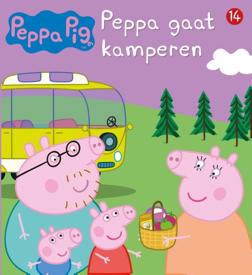 Peppa Pig - Peppa gaat kamperen (nr 14)
