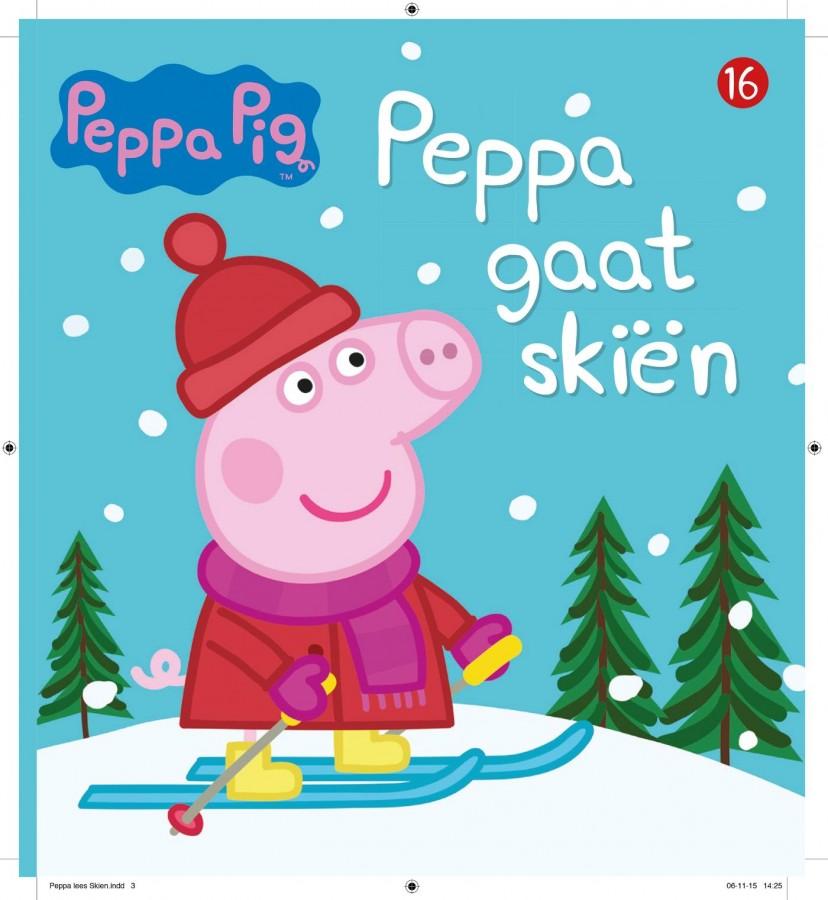 Peppa Pig - Peppa gaat skiën (nr 16)