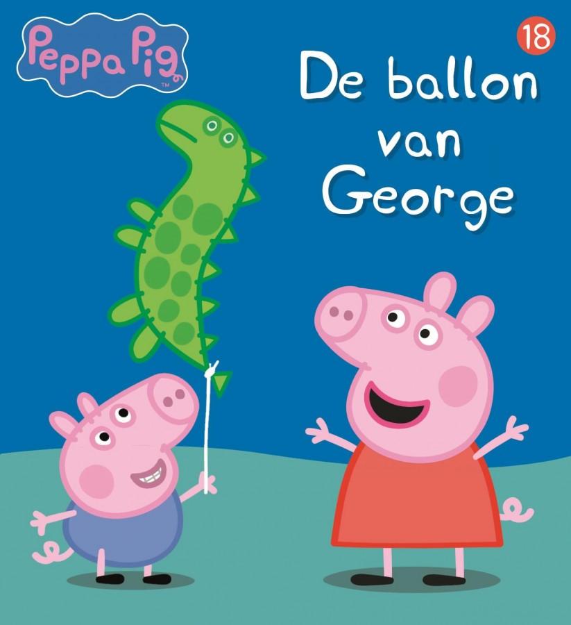 Peppa Pig - De ballon van George (nr 18)