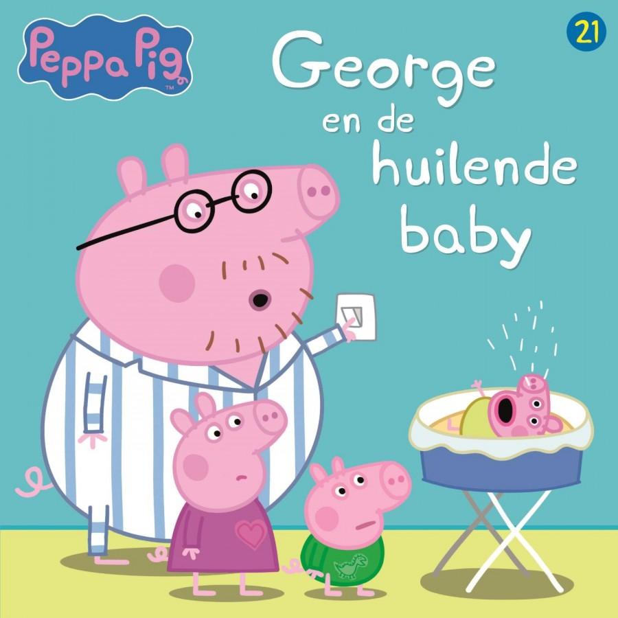 Peppa Pig - George en de huilende baby (nr 21)