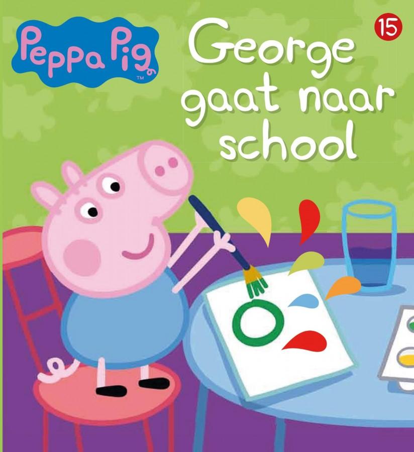Peppa Pig - George gaat naar school (nr 15)