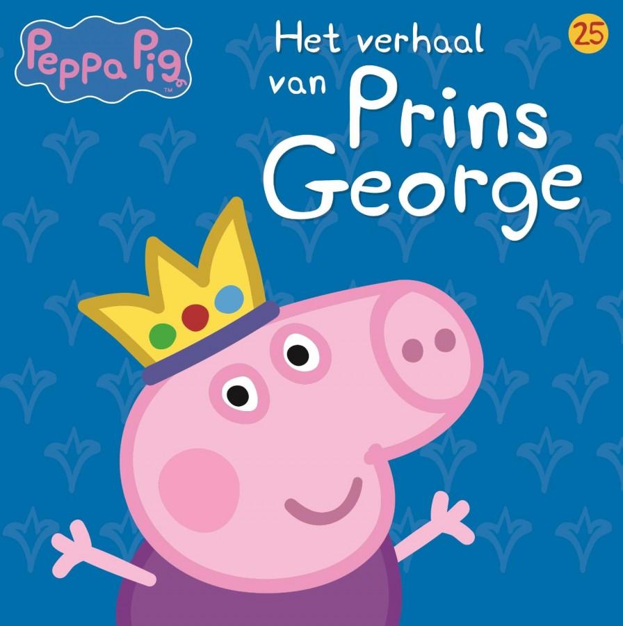 Peppa Pig - Het verhaal van Prins George (nr 25)