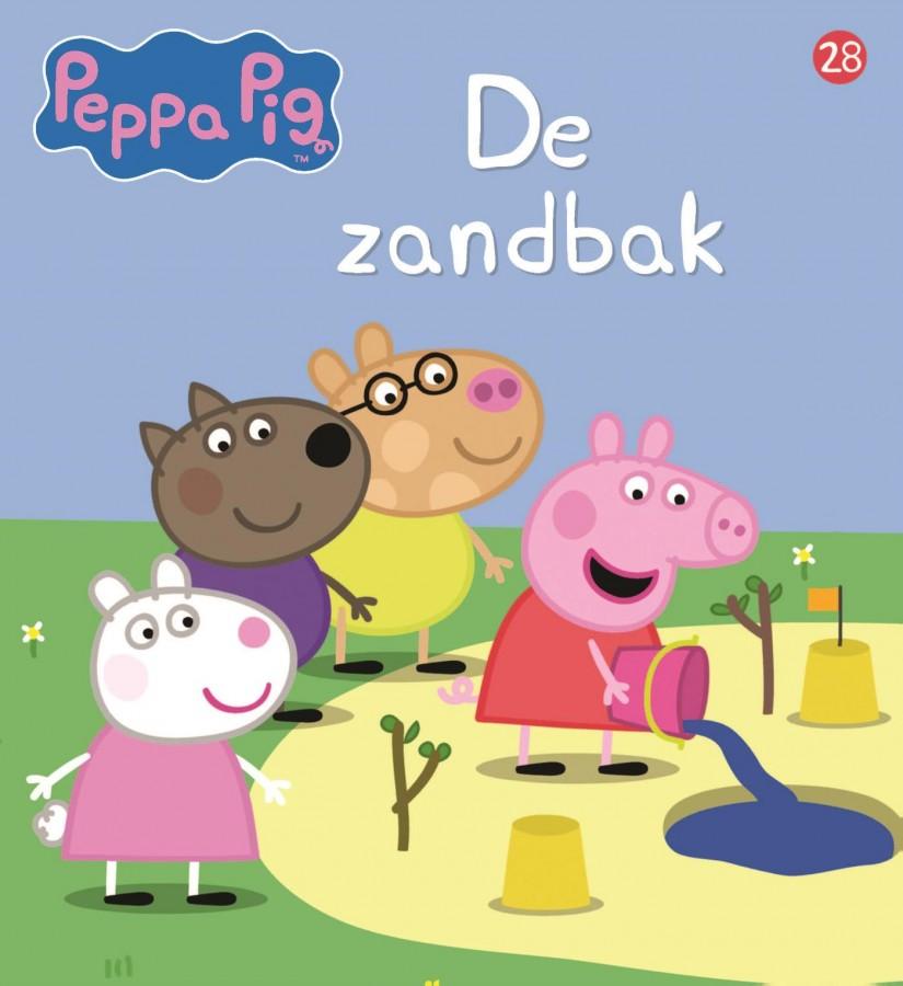 Peppa Pig - De zandbak (nr 28)