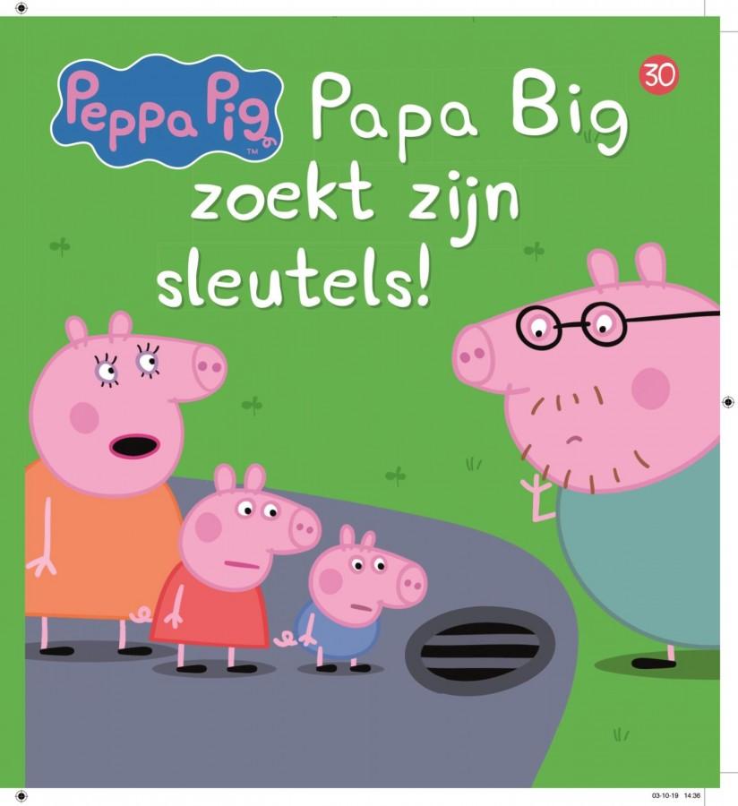 Peppa Pig - Papa Big zoekt zijn sleutels! (nr 30)