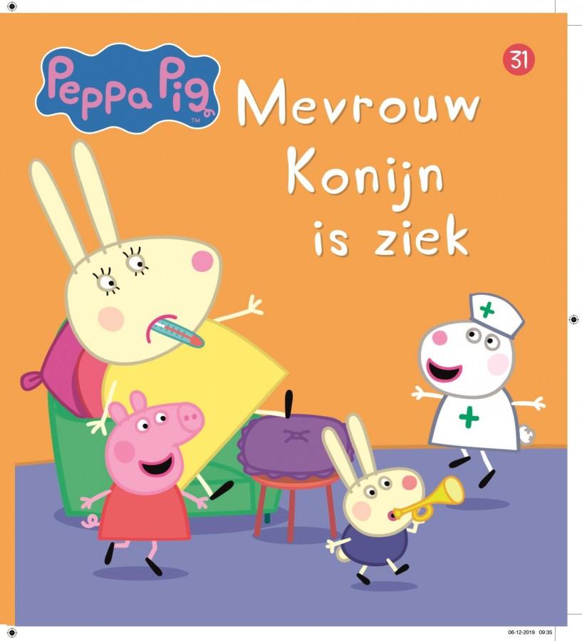 Peppa Pig - Mevrouw Konijn is ziek (nr 31)