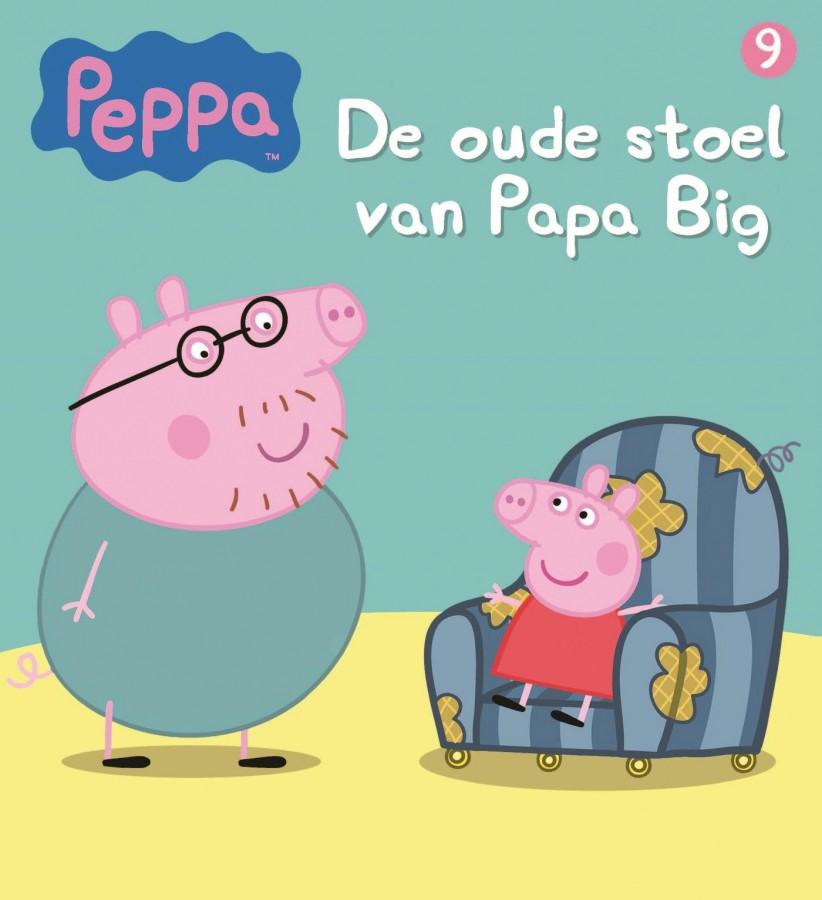 Peppa Pig - De oude stoel van Papa Big (nr 9)