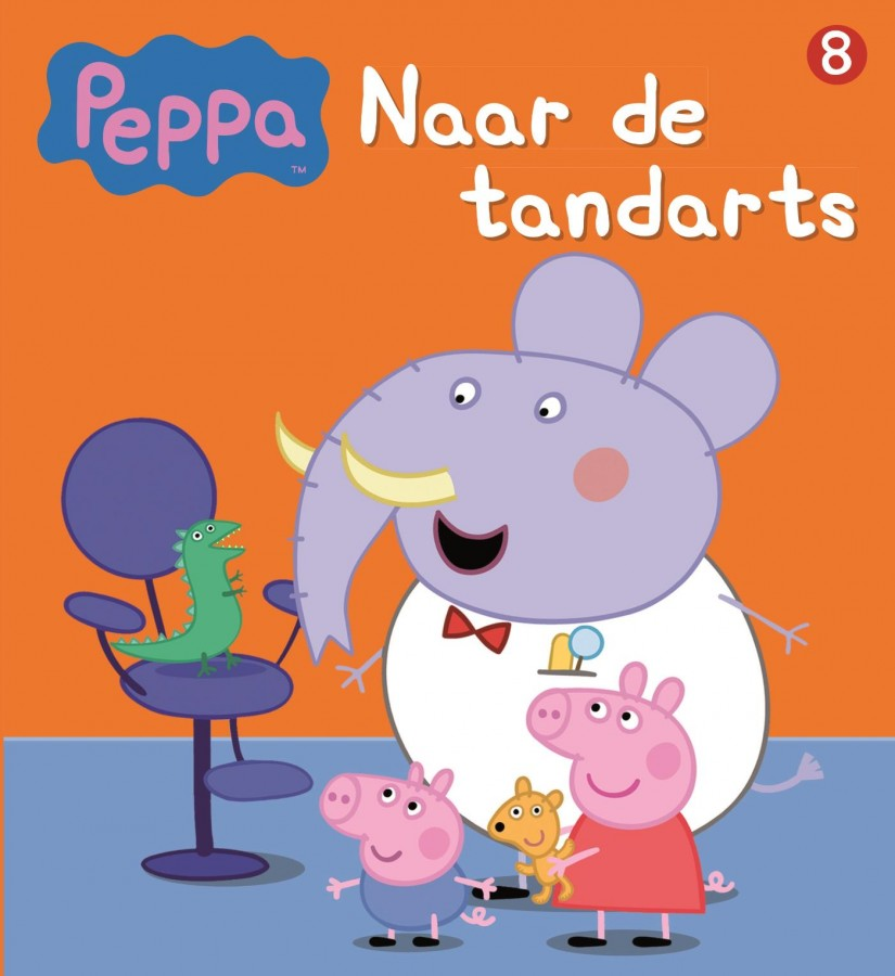 Peppa Pig - Naar de tandarts (nr 8)