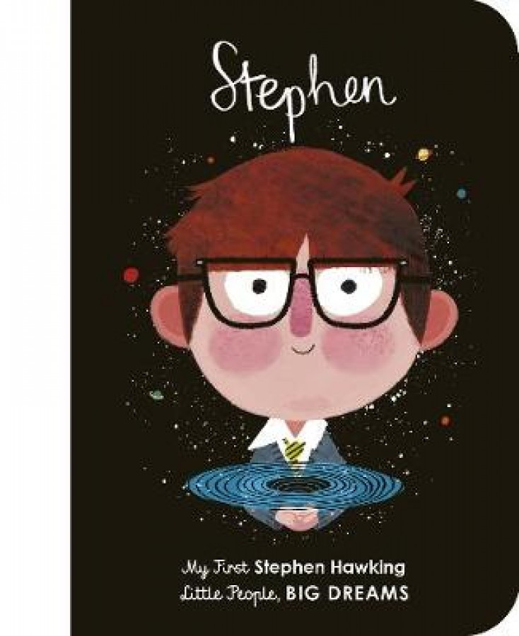 Stephen: my first stephen hawking