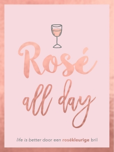 Rosé all day - cadeauboek