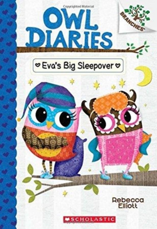 Owl diaries Eva's big sleepover