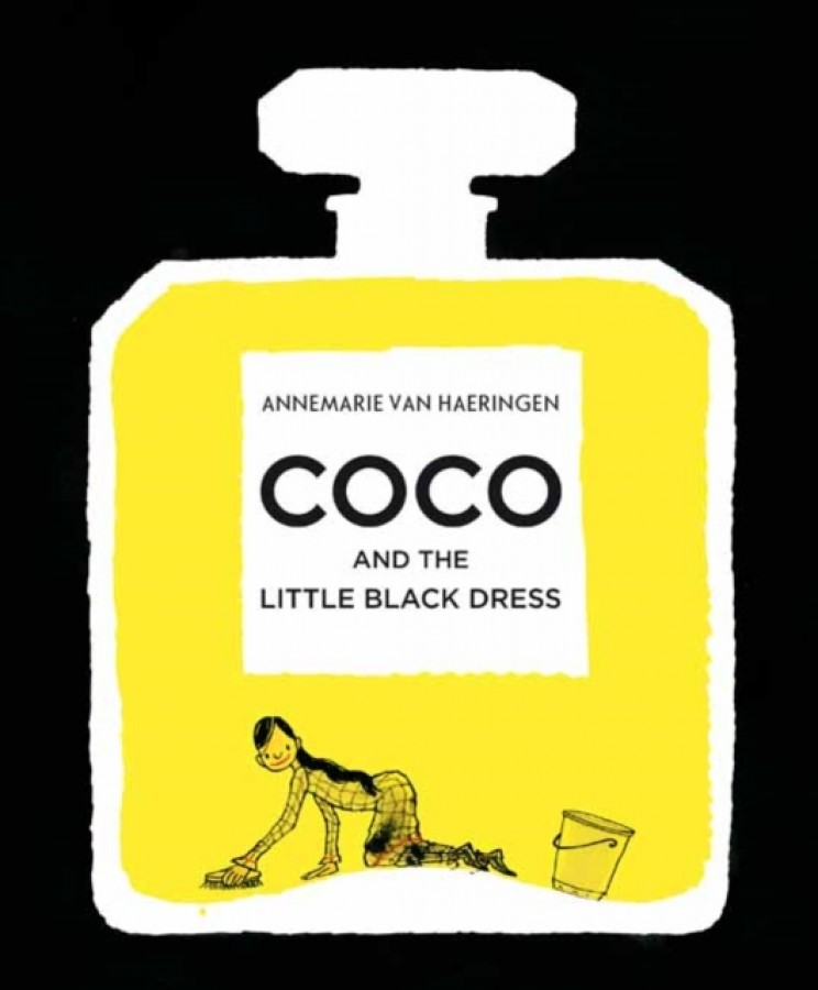 Coco and her little black dress