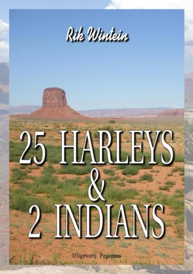 25 Harleys & 2 Indians