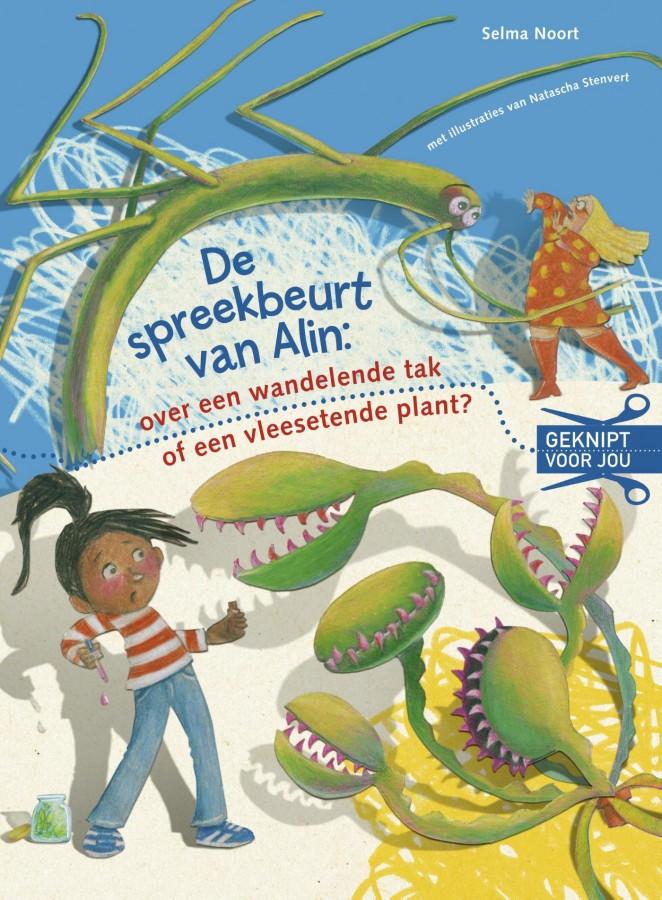 De spreekbeurt van Alin: over een wandelende tak of een vleesetende plant?