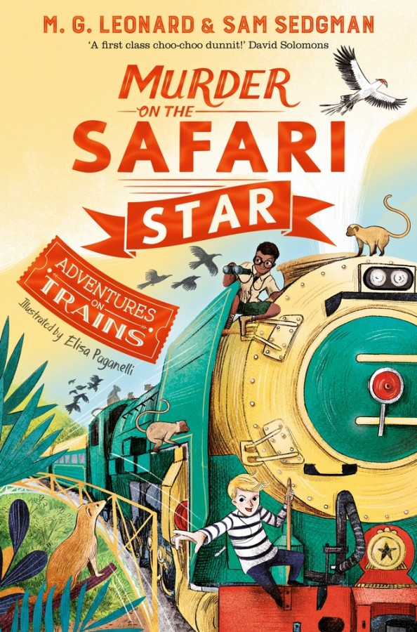 Adventures on trains (03): murder on the safari star