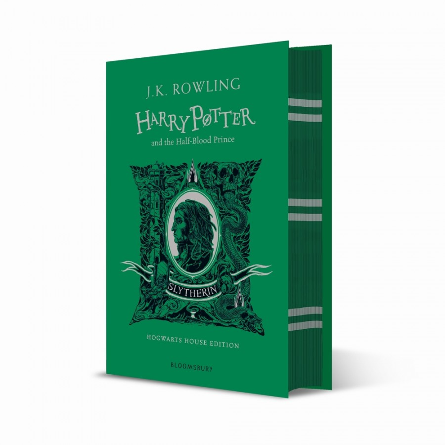 Harry potter (06): harry potter and the halfblood prince - slytherin edition