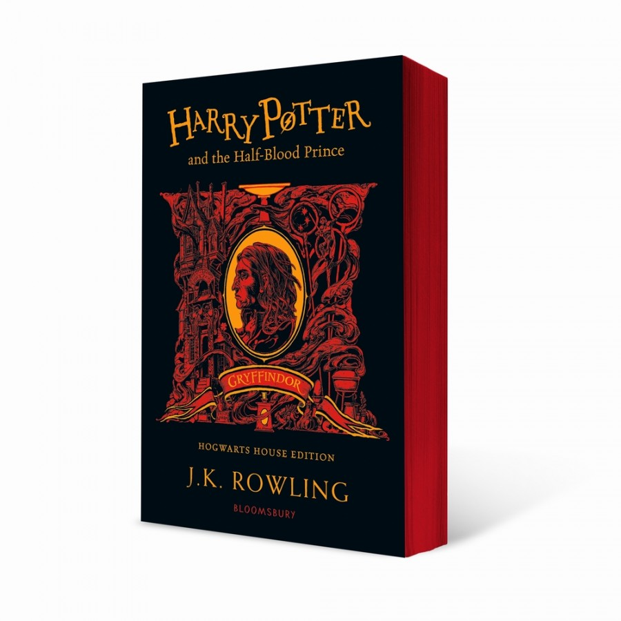 Harry potter (06): harry potter and the halfbood prince - gryffindor edition