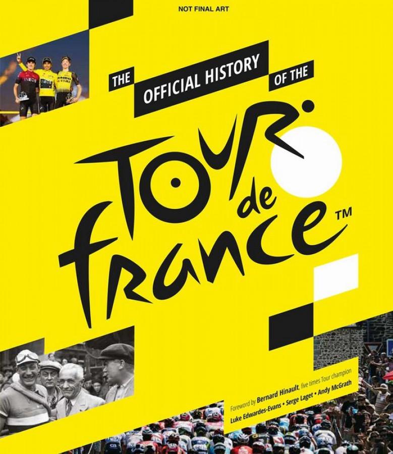 Tour de france, the official history