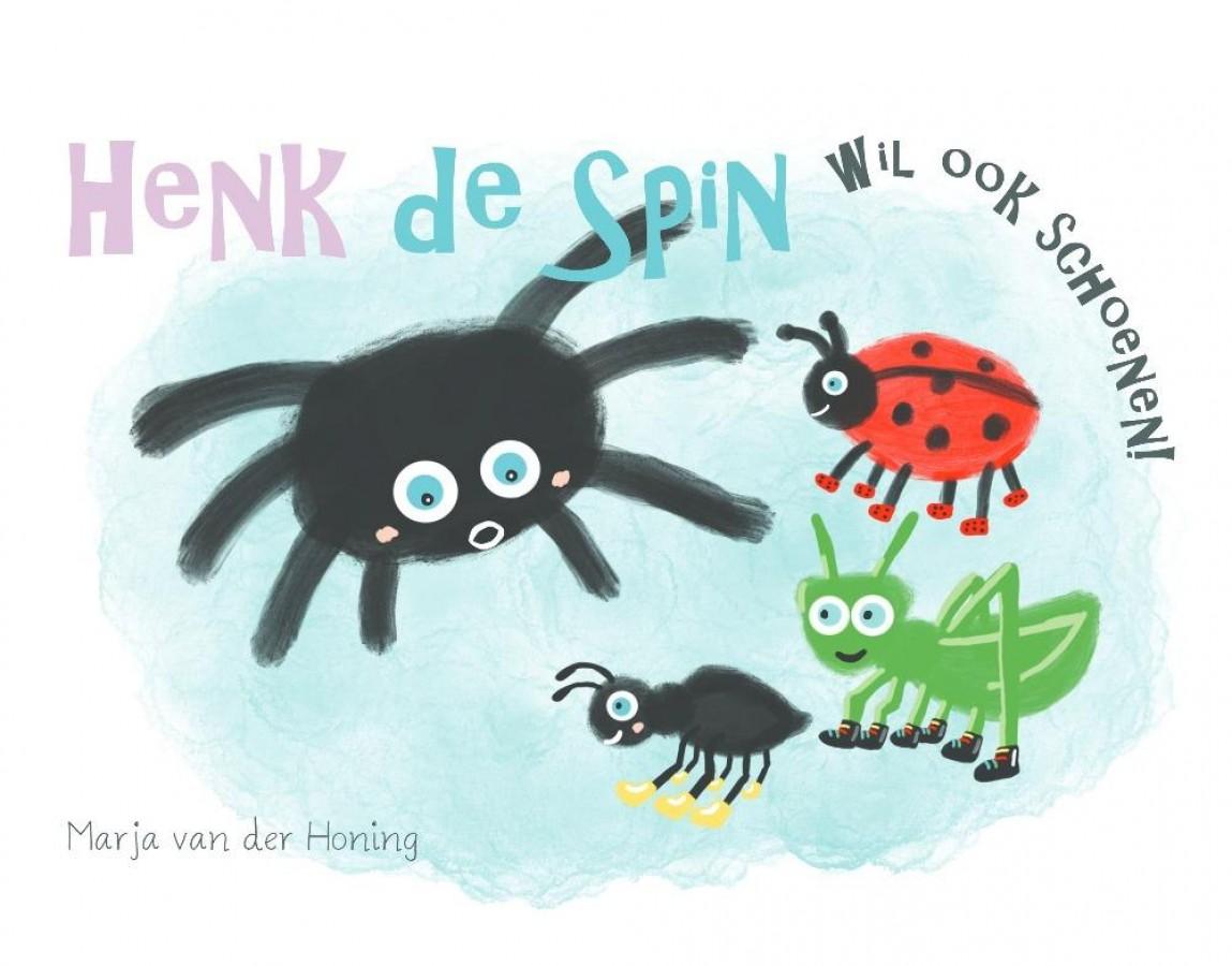 Henk de spin wil ook schoenen!