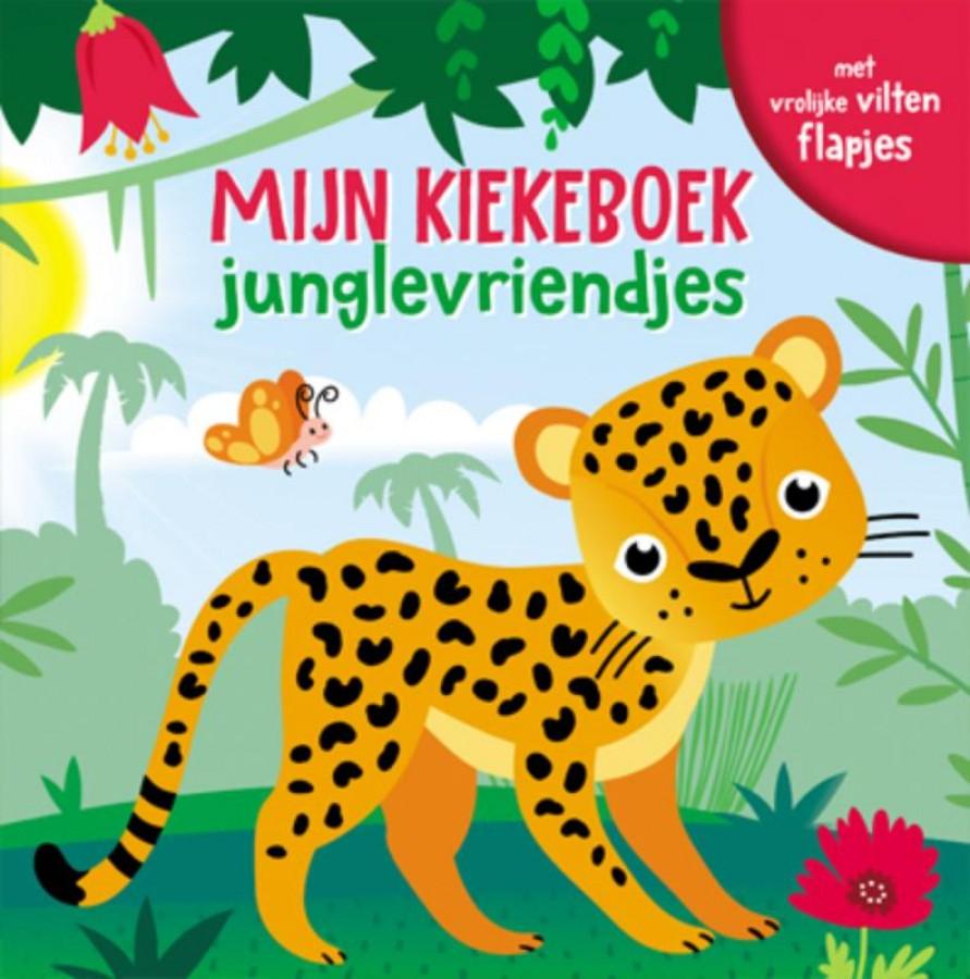 Mijn kiekeboek - Junglevriendjes