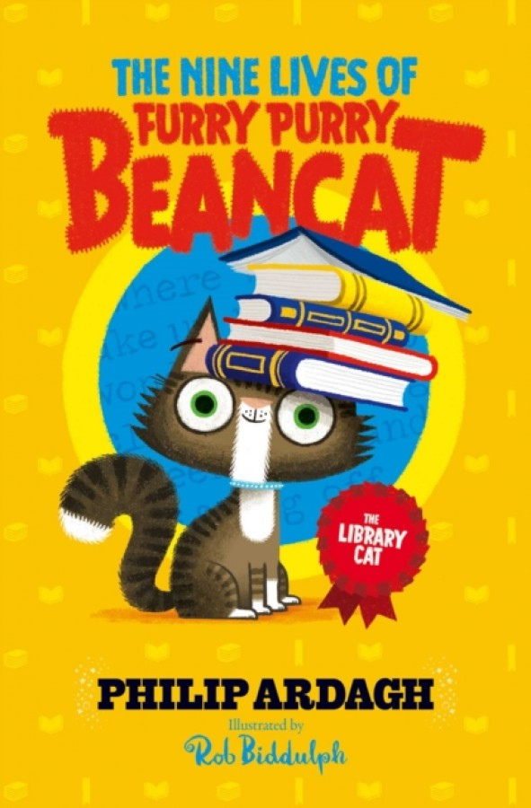 The nine lives of furry, purry beancat (02): the library cat
