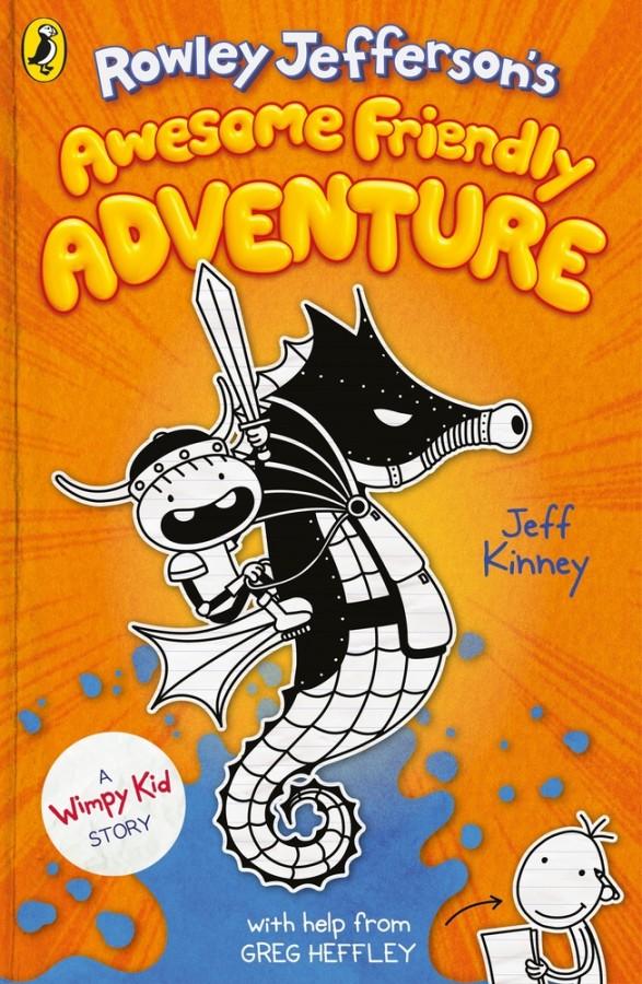 Wimpy kid Rowley jefferson's awesome friendly adventure